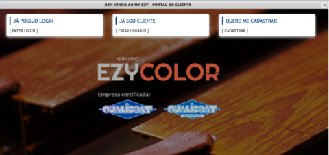 My EZY – Portal do cliente